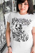 art graphic t shirts by tattoo artist Phowl for Greenspan's