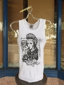Chola Design A Shirt, White