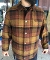 Pendleton Timberline Lined Jacket Brown Black Plaid