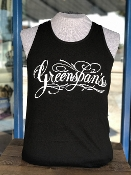 Greenspan's, T shirt available from size small to 6X. 100 percent Cotton of US fabrics assembled in Mexico