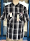 Black Plaid Ben Davis Short Sleeve Shirt