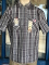 Grey Black Plaid Ben Davis Short Sleeve Shirt