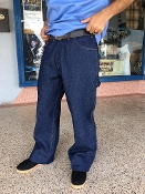 Ben Davis Blue Denim Utility Pants