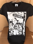 Keep It Original Design T Shirt, Black