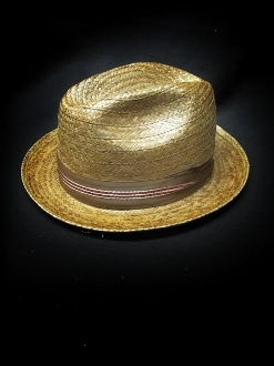 American Made Straw hats made custom for Greenspan's, South Gate, California. Made in USA. The same materials, styles, and manufacturers that Greenspan's carried back in the 50's. Greenspan's, since 1928, www.greenspans.com