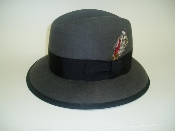 Wide brim all wool Pachuco hat also called central park hat, tango, tando, tangito, cholo hat, brim, gangster hat, OG hat, vato hat. Made in USA.