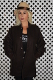 Greenspan's Knit Collar Clicker Coat Brown