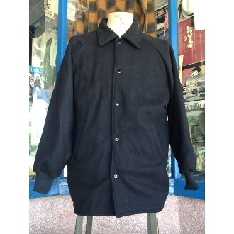 Greenspan's Wool Melton Collar Clicker Coat Black Size 7X
