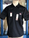 Ben Davis Short Sleeve Half Zip Shirt Black