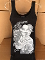 Woman's High Quality OGS Design Tank Top in black