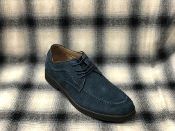 Hush Puppies Lace Up Suede Shoes Navy