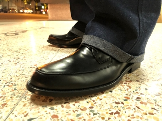 Greenspan's Leather Imperials Black