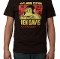 Ben Davis Jeremy Fish T Shirt Black