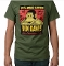 Ben Davis Jeremy Fish T Shirt Army Green