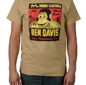 Ben Davis T-Shirt Jeremy Fish Tan
