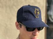 "Pendleton Cotton ""Dad Hat"" Solid Navy P Cap"