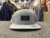 Pendleton Wool Snapback Cap Heather Silver Grey