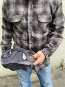 Pendleton Snapback Cap Tan Black Grey Ombre/Solid Grey