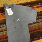 Ben Davis Pocket T-Shirt Charcoal