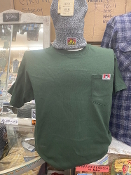 Ben Davis Pocket T-Shirt Hunter Green
