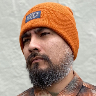 Pendleton Acrylic Beanie Pumpkin Orange