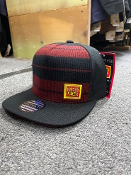 FB County Charlie Brown Cap Black/Burgundy