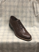 Stacy Adams all leather Madison cap toe biscuits