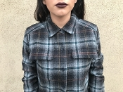 Pendleton wool flannel shirts for women
