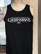 Men's Greenspan's Logo Tank Top Black