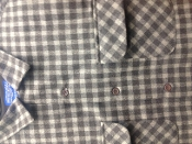 Pendleton Board Shirt Custom Mocha Tan Check